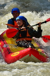 white water rafting and kayaking