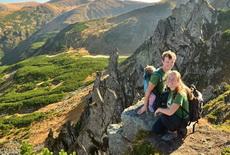 trekking in Ukraine