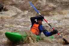 kayaking in Ukraine