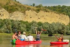 order canoeing tour in Ukraine