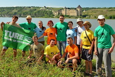 rafting and kayaking on the Dniester