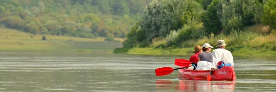 canoeing in Ukraine